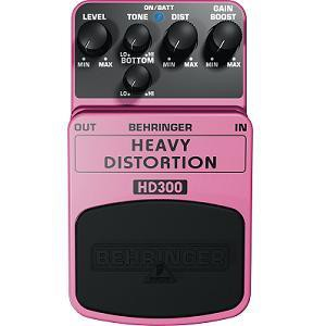 PEDAL BEHRINGER HD300 HEAVY DISTORTION