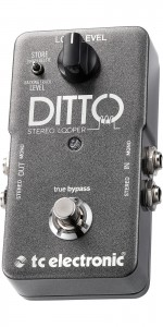 PEDAL T.C. P/GUITARRA DITTO STEREO LOOPR