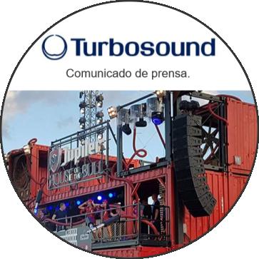 """TURBOSOUND FLEX ARRAY Atrae multitudes en el aniversario del festival """"Rock Werchter"""""""