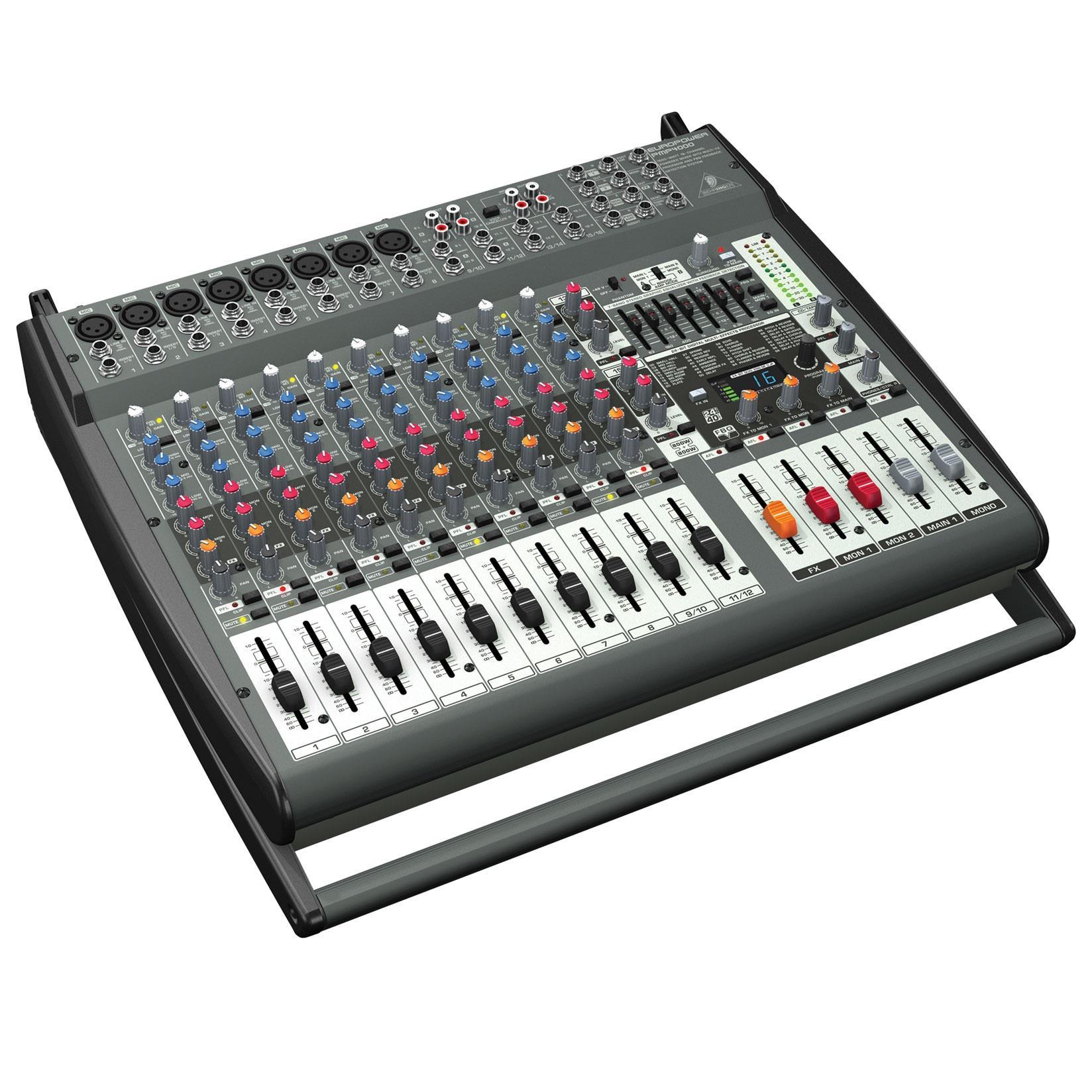 Consola Yamaha Emxsc Manual